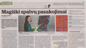 2014 06 16 newspaper 'Kauno diena'