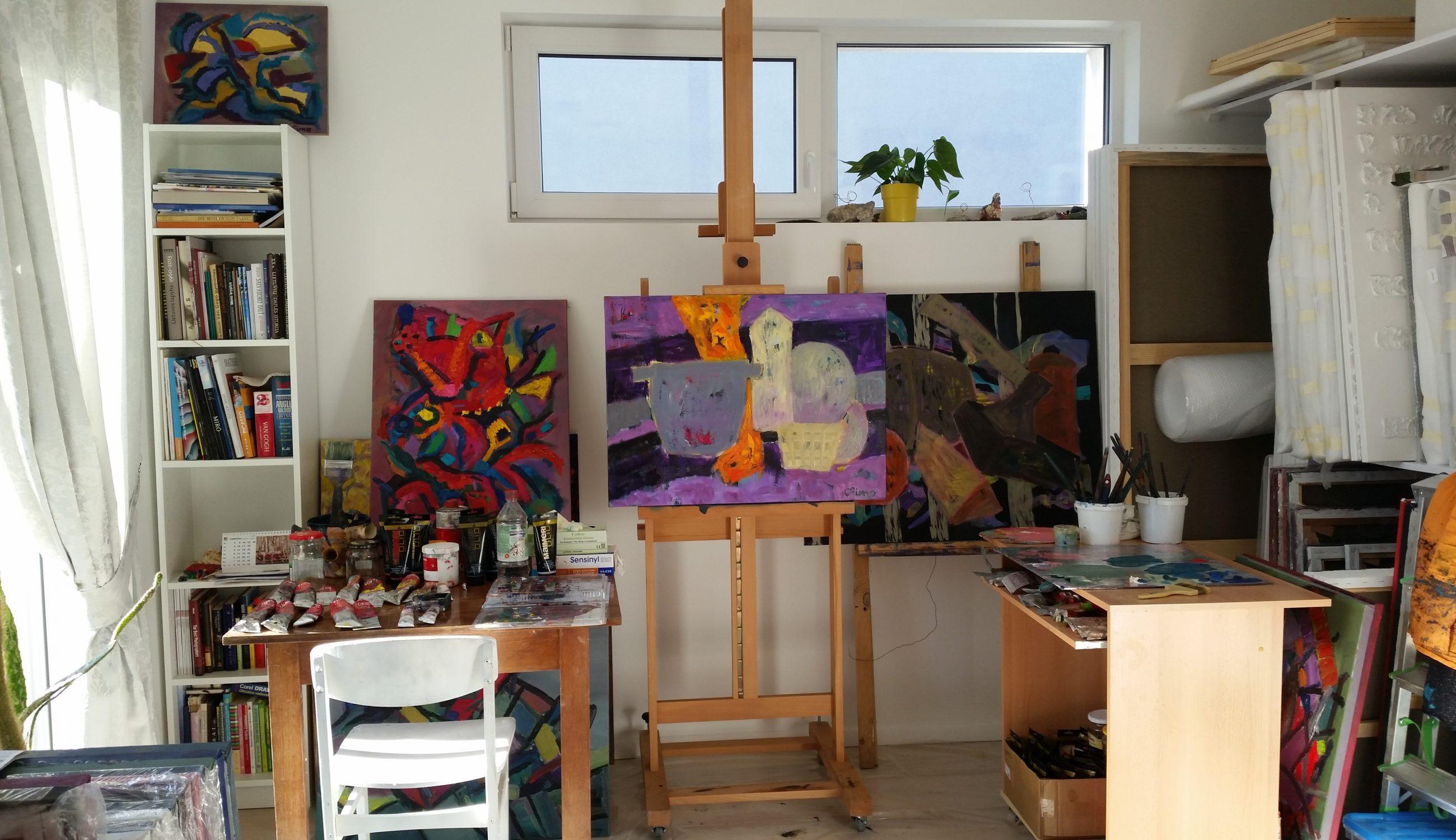 Studio. Lina Morkunaite- Vilkeliene
